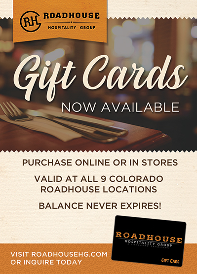 2019 Gift Card Flyer